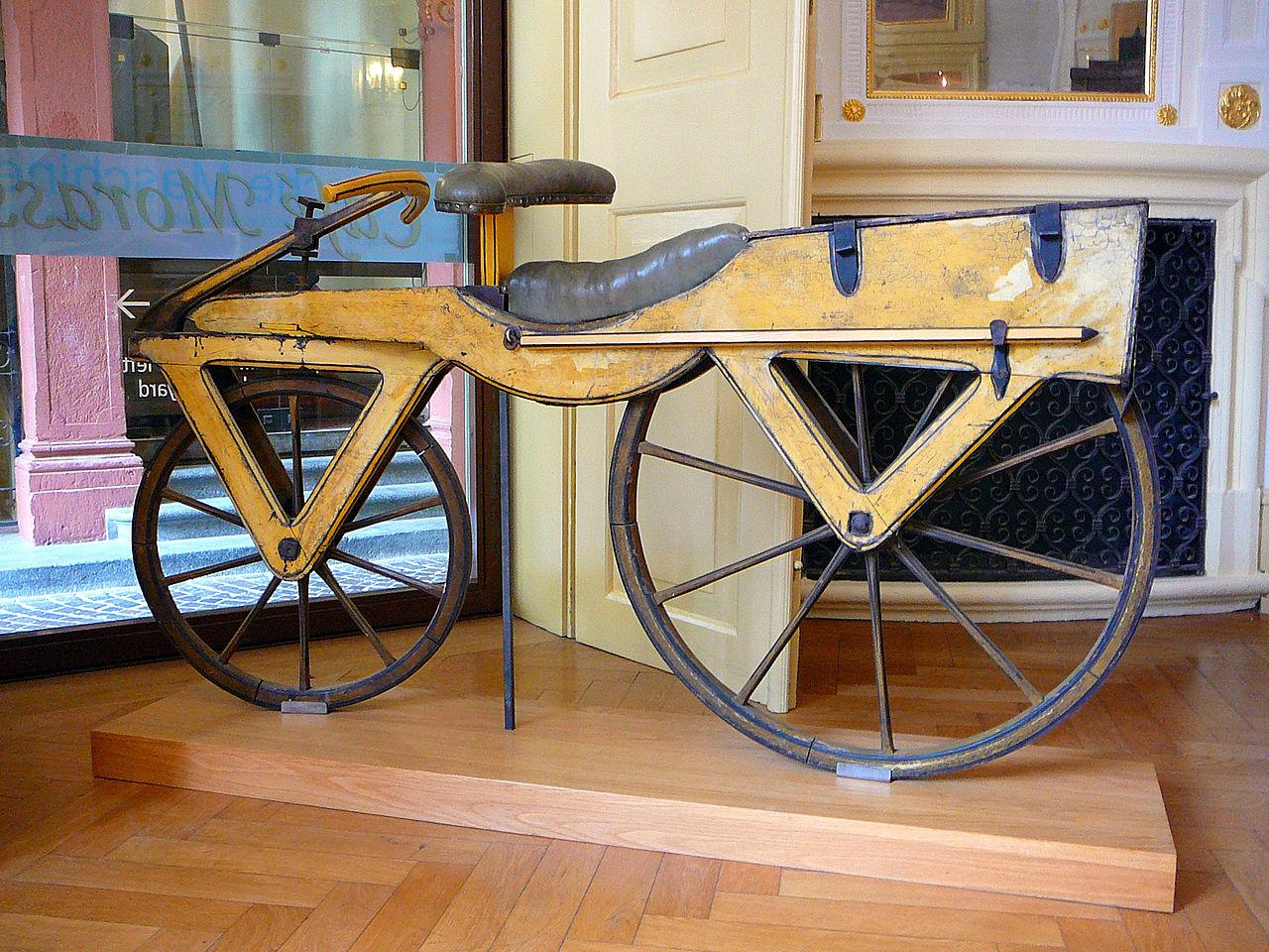 The first balance bike
