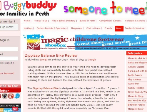 Buggy Buddys: Zippizap Balance Bike Review