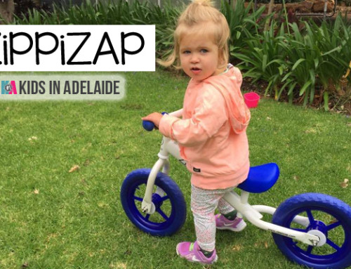 Kids In Adelaide: Zippizap Balance Bike Review