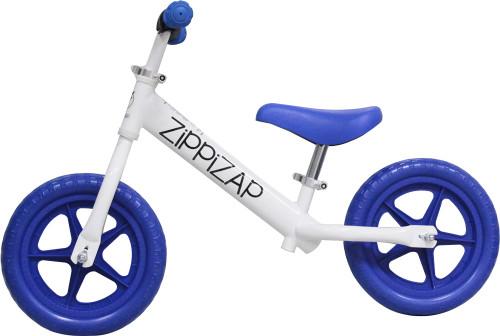 white zippizap balance bike